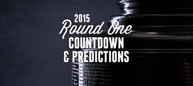 NHL PLAYOFFS 2015 (ROUND 1) COUNTDOWN AND PREDICTIONS