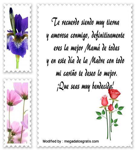 mensajes de texto para el dia de la Madre,palabras para el dia de la Madre,saludos para el dia de la Madre: http://www.megadatosgratis.com/bonitos-mensajes-por-el-dia-de-la-madre/
