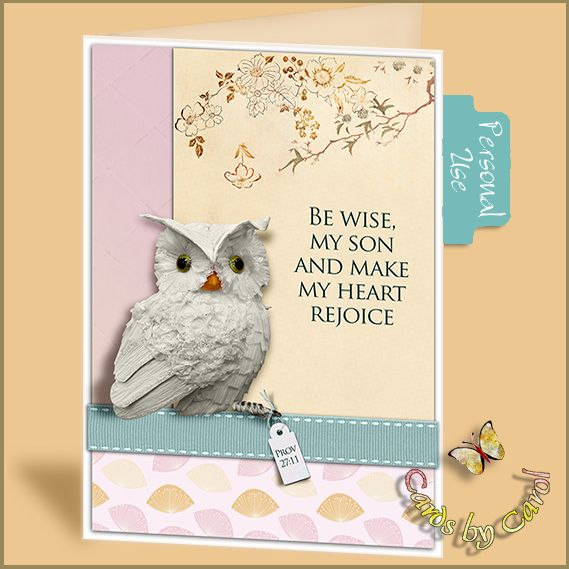 _ccrl Be Wise My Son  Free Printable Card