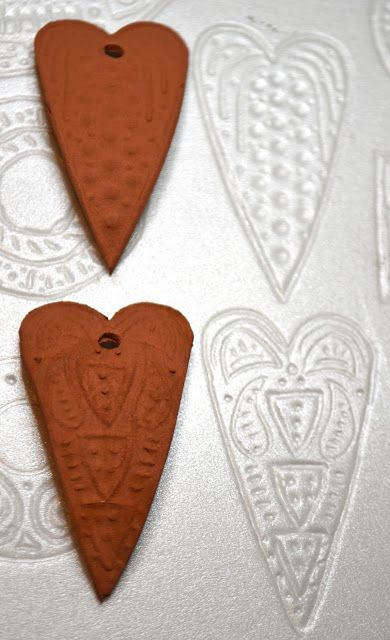 Art Jewelry Elements: Scratch Foam Original Textures. AWESOME IDEA!