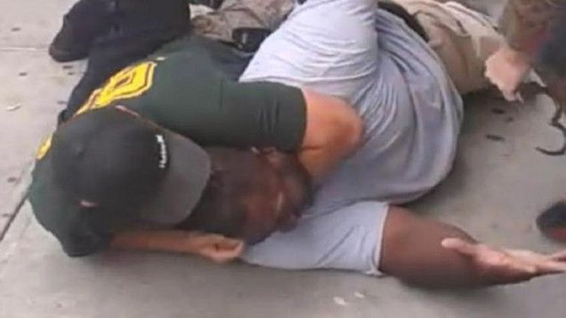 In July, New York police officer Daniel Pantaleo choked unarmed black man Eric Garner to death, in broad daylight, while a bystander caught it on video. That is what American police do. Yesterday, despite the video, despite an NYPD prohibition of exactly the sort of chokehold Pantaleo used, and despite the New York City medical examiner ruling the death a homicide, a Staten Island grand jury declined even to indict Pantaleo. That is what American grand juries do.