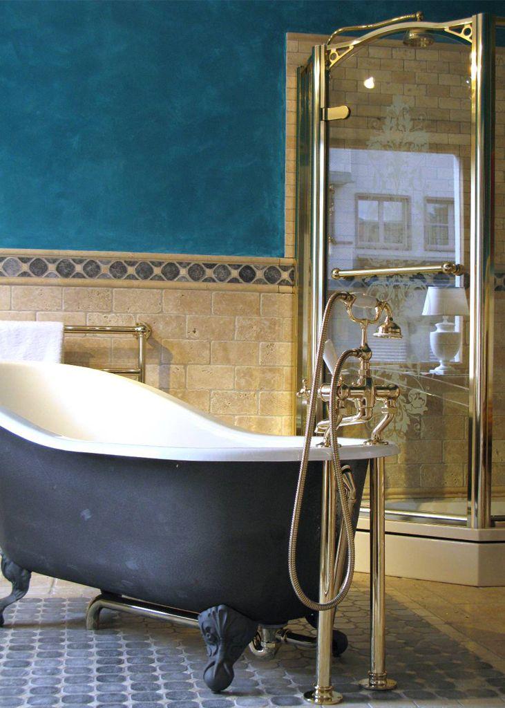 Englisches Badezimmer Traditionelle Bader Badezimmer Badezimmer Landhaus