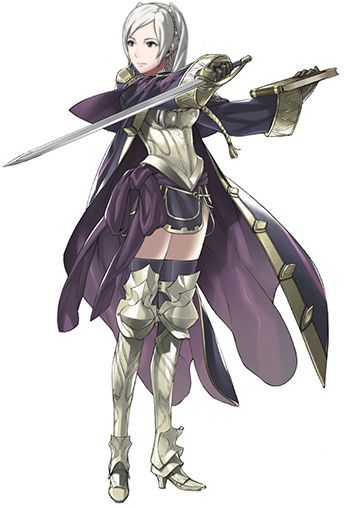 My current favorite game is Fire Emblem: Awakening. This is the character I play as