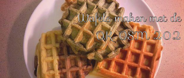 Recept: Maak luchtige wafels in handomdraai met de OK. OSM 202 sandwich maker - Being Inspired By Lisa