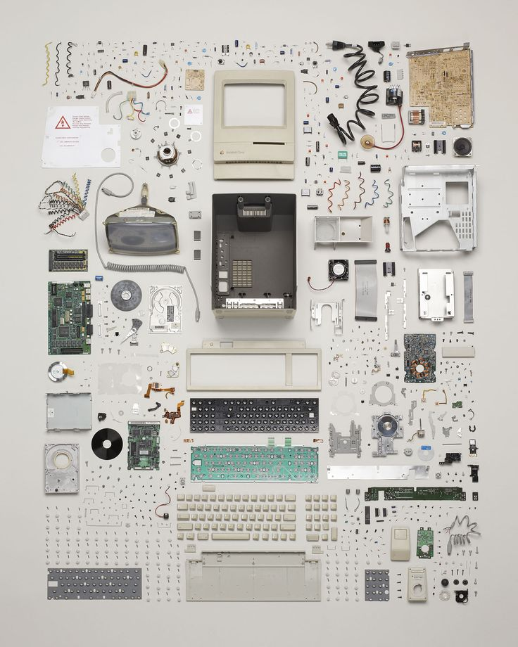 Photographer Todd McLellan disassembles the inner workings of retro everyday objects in his latest series, Things Come Apart