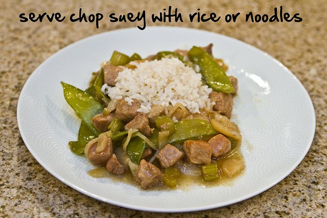 serve with rice or noodles by The Spohrs Are Multiplying..., via Flickr