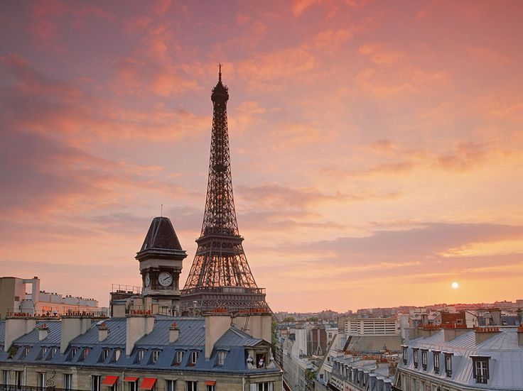 """""""Paris is always a good idea (especially when you're young). And even though you'll probably never be able to avoid the crowds at the Eiffel Tower, the view from the top is unlike anything you'll ever see."""" —Rachel ColemanRead more: 18 Beautiful Photos That Will Make You Want to Visit Paris"""