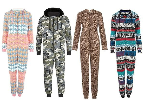 I need these onesies! Especially the camo one;)