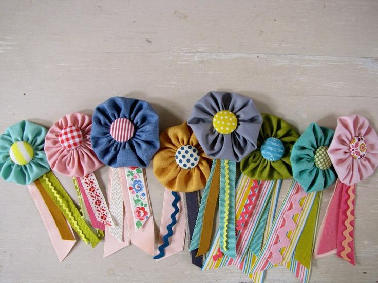 Pretty Prize-ribbon. $12,00, via Etsy.
