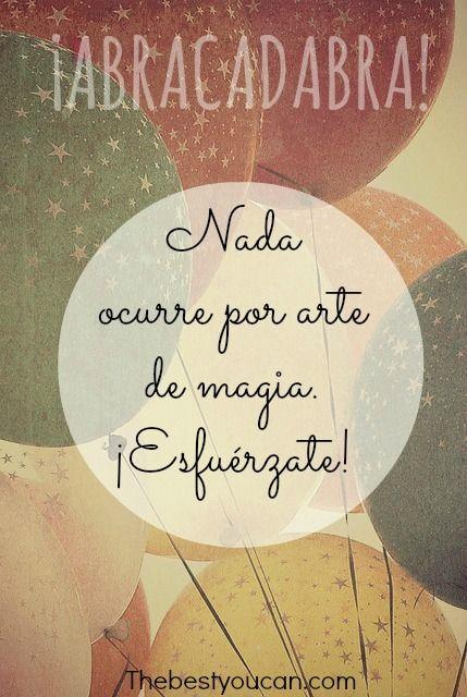 Nueva semana, más oportunidades para esforzarte y lograr lo que te propongas. #FelizLunes :)