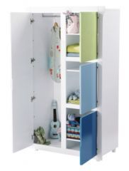 25 best ideas about armoire rangement on pinterest for Armoire pour chambre mansardee