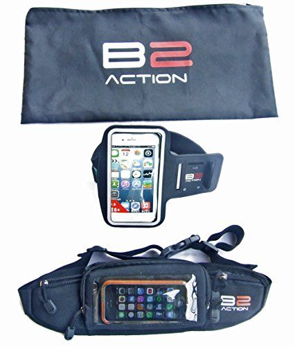Running Belt  Armband  Gift Bag by B2action For Iphone 5 6 Plus Ipods Samsung Galaxy S6 S5 -- Details can be found by clicking on the image.