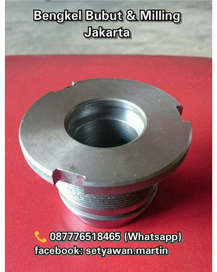 Bengkel Bubut (Lathe) Dan Milling Jakarta, Hydraulic Boom Cyl,  087776518465 (Whatsapp)