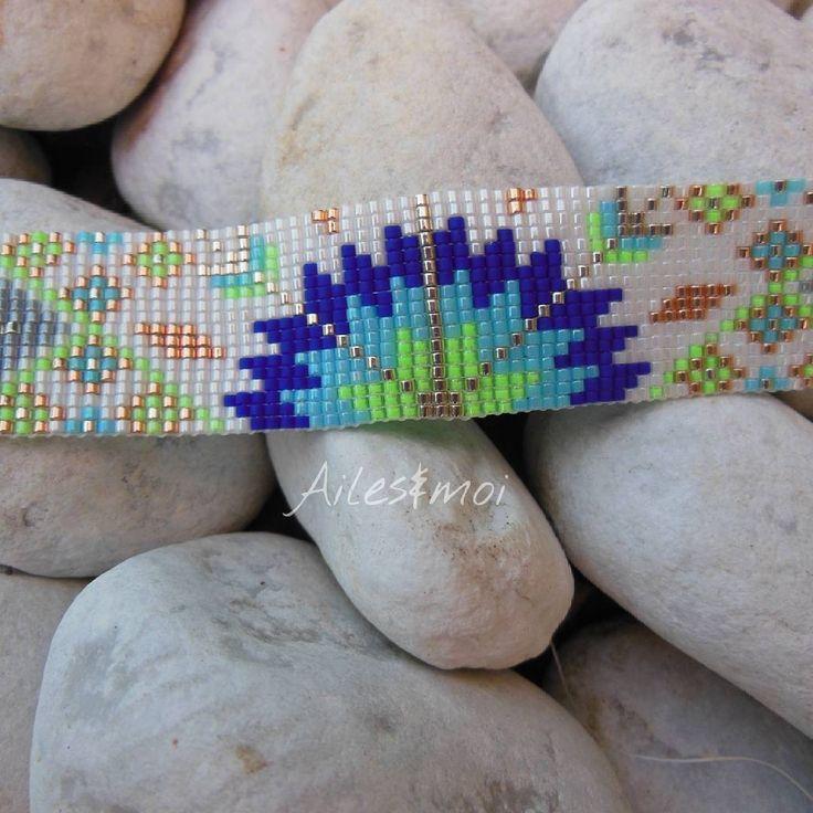 #ailesetmoi#manchette#bracelet#pearls#miyukiaddict#miyuki#perles#verre#jenfiledesperlesetjassume