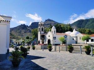 Pueblo de Santiago del Teide en Tenerife, España