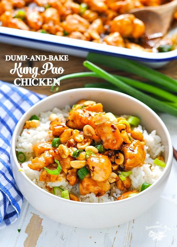 Dump And Bake Kung Pao Chicken