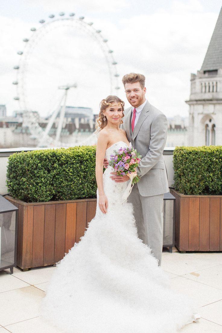 Luxury Wedding Inspiration From The Corinthia Hotel in London. Flowers by Amie Bone Flowers. Image by Roberta Facchini.- ROCK MY WEDDING | UK WEDDING BLOG