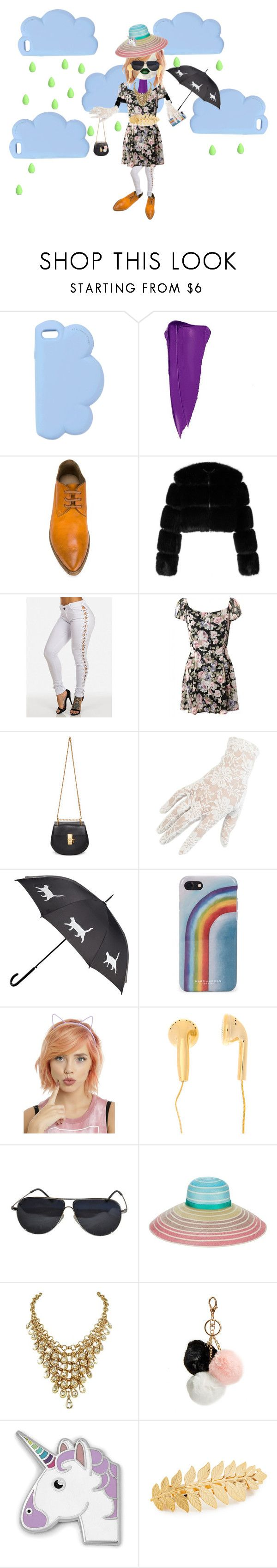 """""""who is she: moon child by emma l."""" by tapping-raven ❤ liked on Polyvore featuring STELLA McCARTNEY, Charlotte Russe, Marsèll, Givenchy, Chloé, Black, Marc Jacobs, BMW, Missoni and GUESS"""