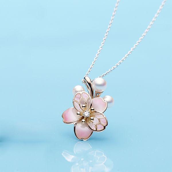 Best 25 Cherry Blossom Jewelry Ideas On Pinterest