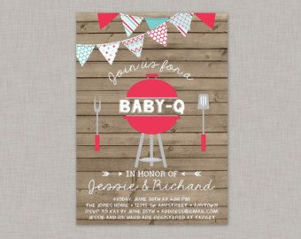 couples baby shower invitation coed baby shower by