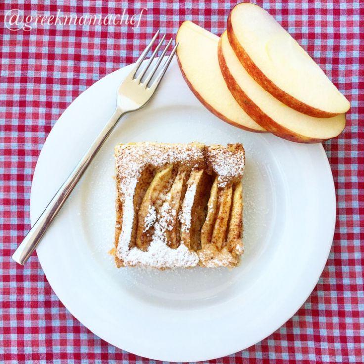 greekmamachef : Delicious apple cake! Recipe on the blog!!