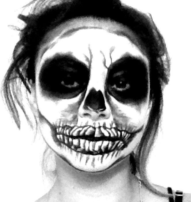 Halloween makeup sfx special effects #specialfx #specialeffects makeup #face effects #unwoundfx