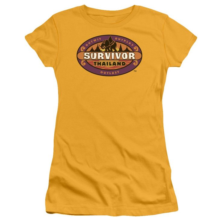 """Checkout our #LicensedGear products FREE SHIPPING + 10% OFF Coupon Code """"Official"""" Survivor / Thailand - Short Sleeve Junior Sheer - Survivor / Thailand - Short Sleeve Junior Sheer - Price: $34.99. Buy now at https://officiallylicensedgear.com/survivor-thailand-short-sleeve-junior-sheer"""