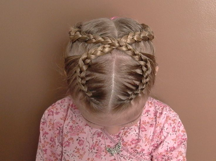 how to make front french braid
