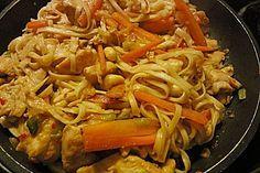 Chinesisches Hühnerfleisch mit Cashewnüssen (Rezept mit Bild)   Chefkoch.de