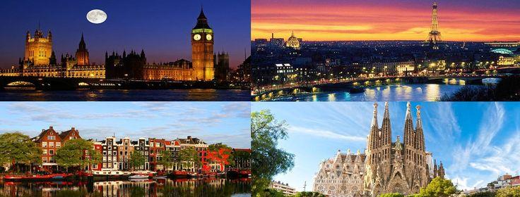 Offerte speciali Capitali Europee