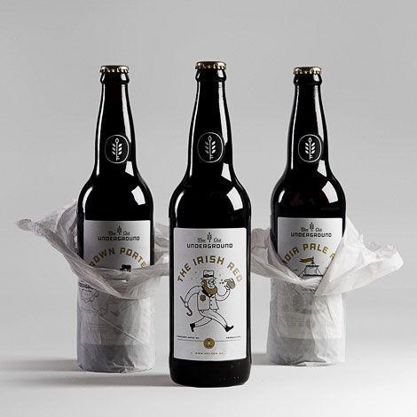 Underground Beer Club Bottles