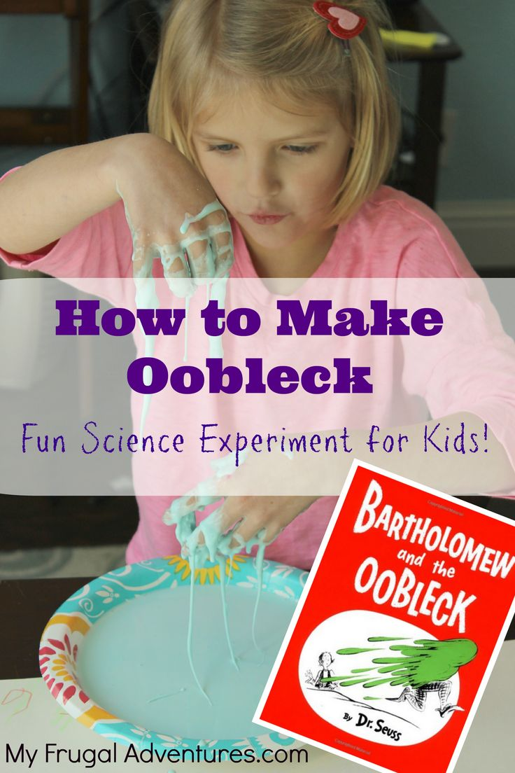 I decided to declare this week messy week at our house and I am going to try some of the goopy, slimely crafts for the kiddos. The first thing we tried was making homemade Oobleck. If you ar…