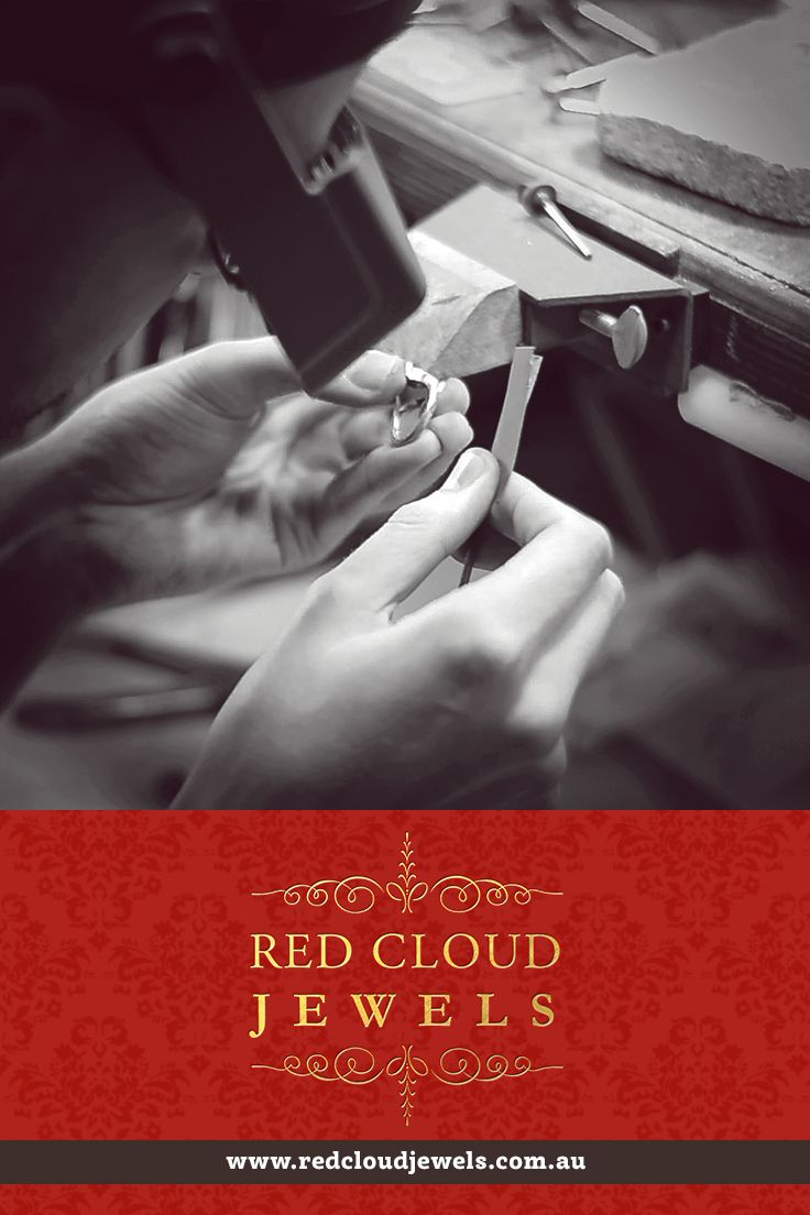 Masterpieces take time, a lot of effort and extraordinary attention to detail. | Red Cloud Jewels - Outstanding Jewellery for Outstanding Individuals | www.redcloudjewels.com.au