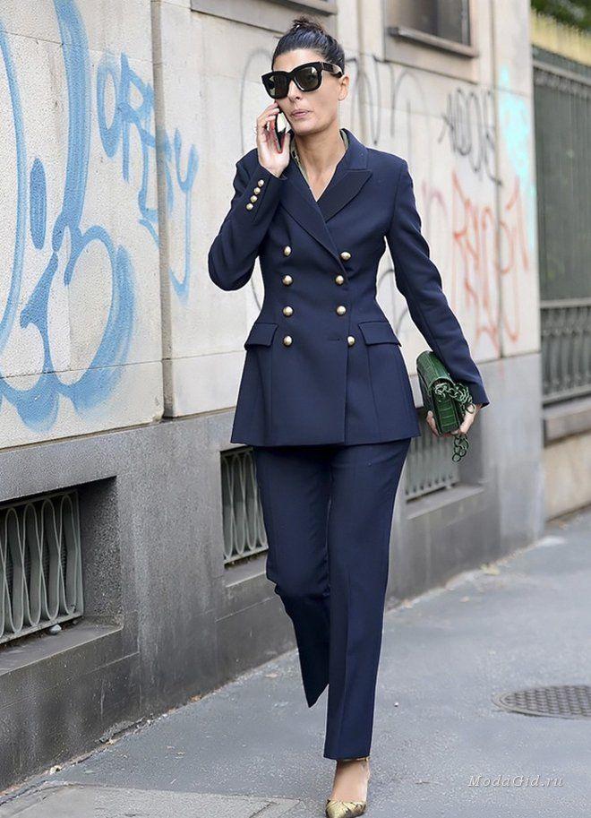 Мода и стиль: Брючный костюм на выход и на каждый день