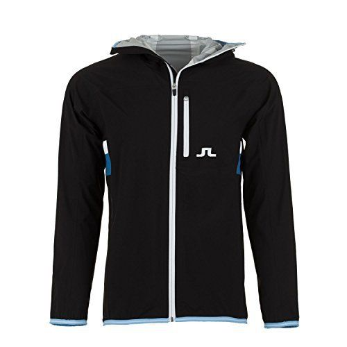 Signature 2.5 ply technical fabric is waterproof and breathable Design features attractive contrast stripes at waist and embroidered J.Lindeberg bridge logo on chest Tightenable hood and elastic sleeve ends keep you comfortable and dry       Famous Words of...  More details at https://jackets-lovers.bestselleroutlets.com/mens-jackets-coats/lightweight-jackets/golf-jackets/product-review-for-mens-j-lindeberg-fs-jl-2-5-ply-golf-jacket-black-us-size-xl/