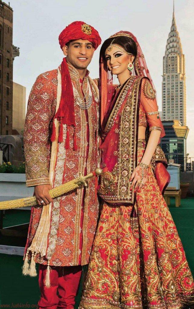 Amir Khan Marriage: amir khan and faryal makhdoom wedding pictures