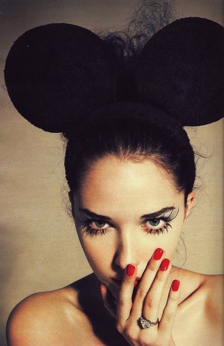 #celebratecolorfully dressing up: Mice, Halloween Costume, Mickey Mouse, Idea, Fashion, Makeup, Minnie Mouse, Beauty, Hair
