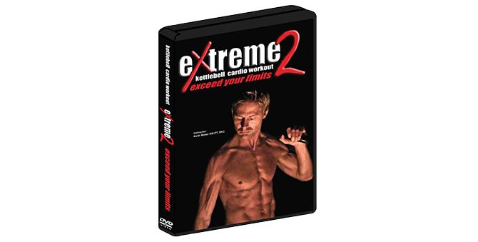 Extreme Kettlebell Cardio Workout 2 DVD - keith weber