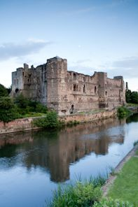 Newark Castle Nottinghamshire, UK founded in the 12th century by Alexander, Bishop of Lincoln