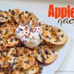 tricked out apple nachos.