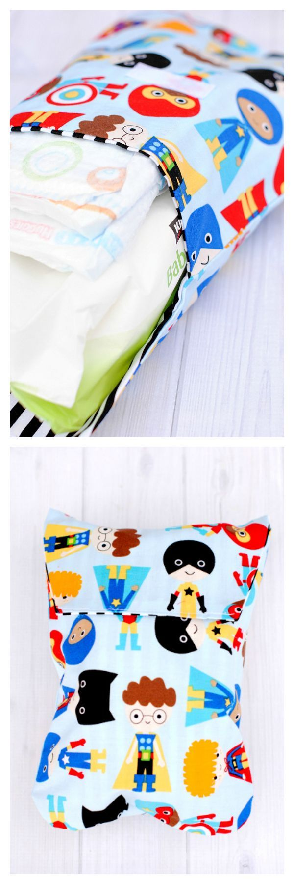 Diaper and Wipes Case Tutorial