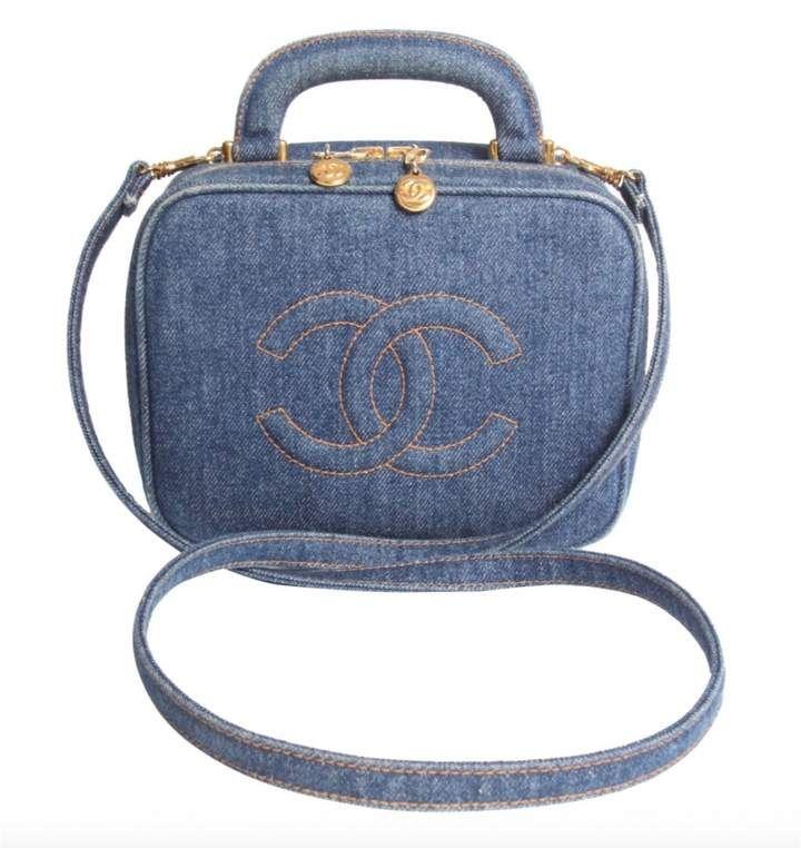 Vanity Case Chanel Vanity Case Handbag Shopping Vintage Crossbody Bag