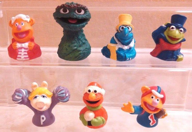 Vintage Sesame Street Finger Puppet Lot Of 7 Kermit Oscar Gonzo Piggy & More | Toys & Hobbies, TV, Movie & Character Toys, Muppets, Sesame Street | eBay!