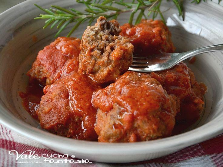 Polpette di carne e patate al sugo