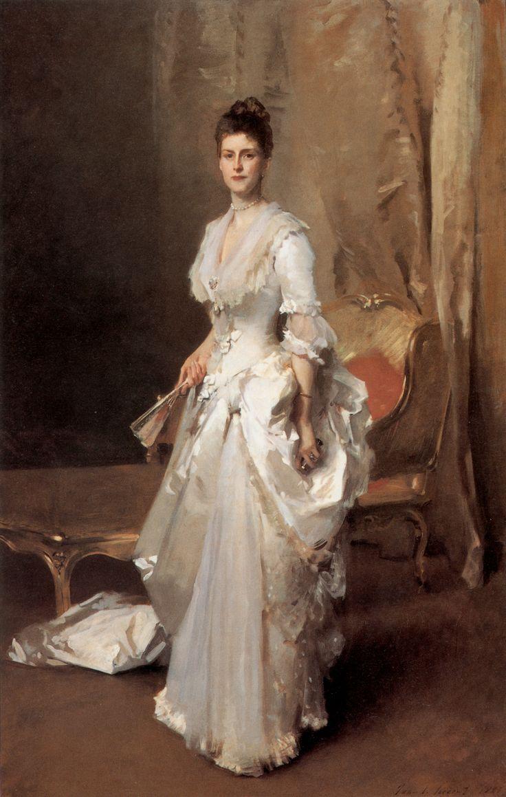 White apron john sokoloff - John Singer Sargent Mrs Henry White 1883