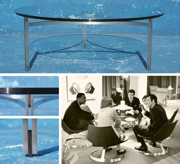 Scimitar table designed by Preben Fabricius and Jørgen Kastholm. For further information, please contact bo-ex furniture: bo-ex@bo-ex.dk