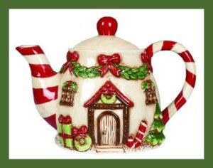 Dol Victorian Gingerbread House Holiday Christmas Tea Pots  http://bit.ly/1T6KDQq