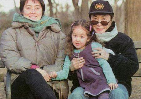 Image result for yoko onos daughter