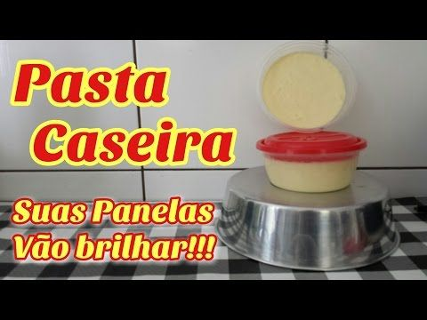 Receita Pasta desengordurante de Vinagre e açúcar. - YouTube