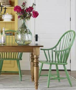 ethanallen.com - Ethan Allen Vintage style | like the green color, nice update instead of the usual black